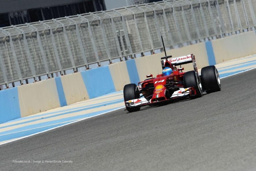 Fernando Alonso, Ferrari, Bahrain, 2014