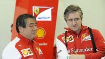 Hirohide Hamashima, Pat Fry, Ferrari, Jerez, 2014