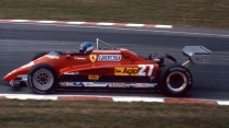 Patrick Tambay, Ferrari, Brands Hatch, 1982