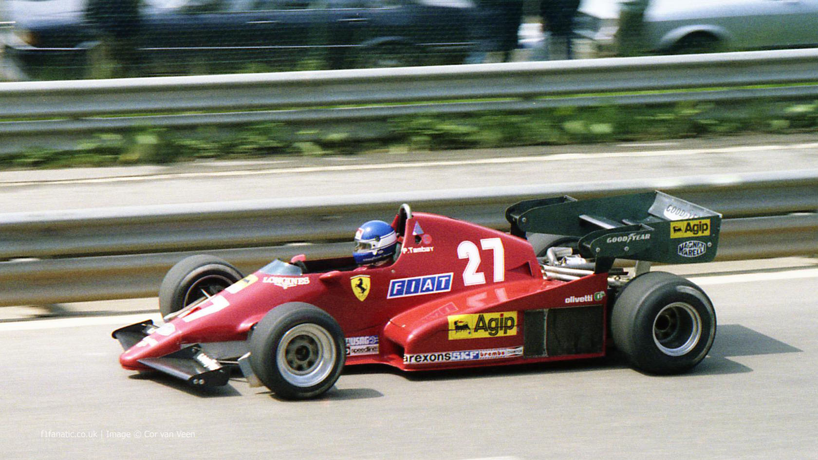 Patrick Tambay, Ferrari, Spa-Francorchamps, 1983