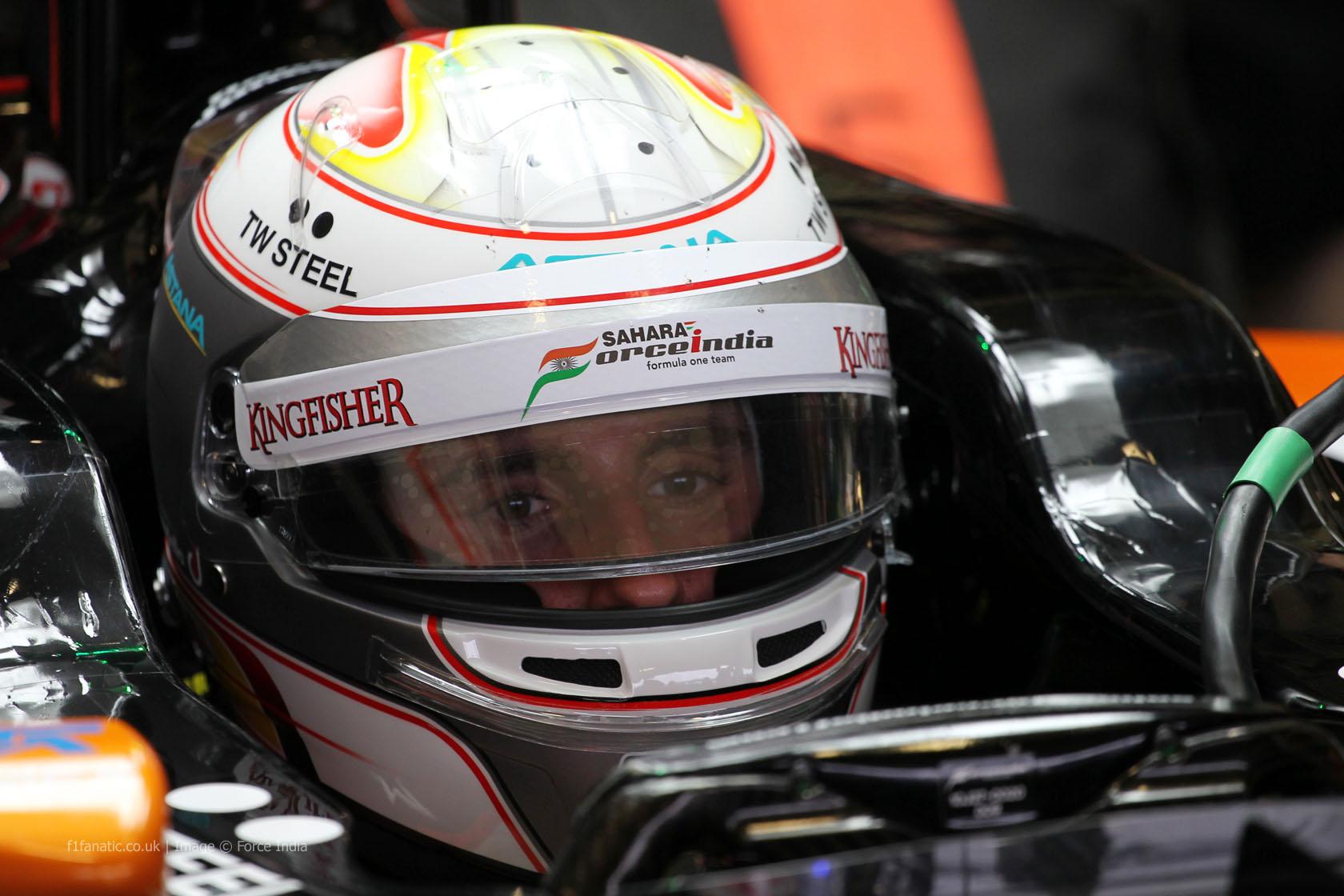 Daniel Juncadella, Force India, Jerez, 2014
