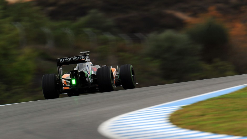 Daniel Juncadella, Force India, Jerez, 2014