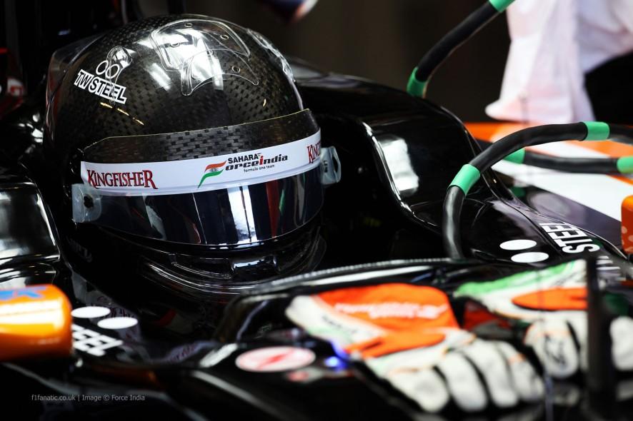 Sergio Perez, Force India, Jerez, 2014
