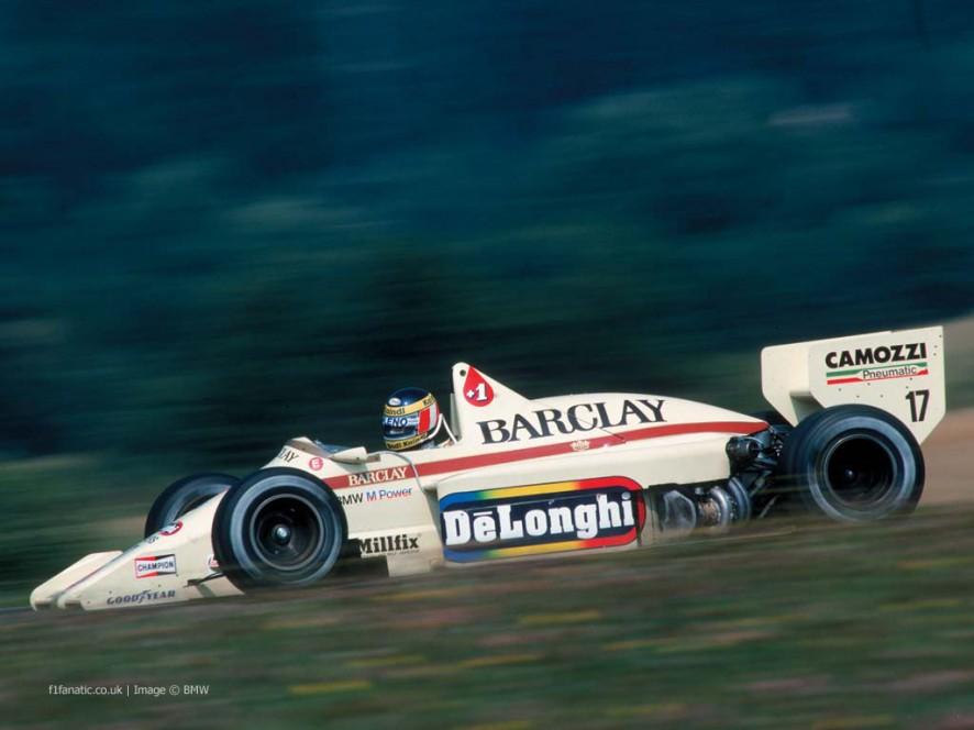 Gerhard Berger, Arrows, Osterreichring, 1985