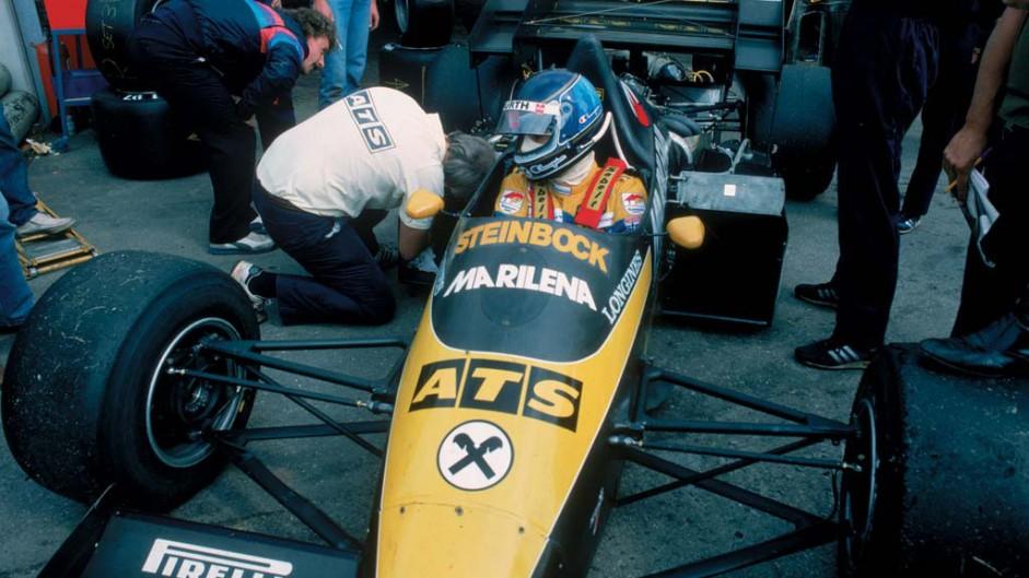 Gerhard Berger, ATS, 1984