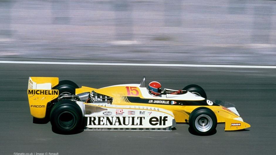 Jean-Pierre Jabouille, Renault, Dijon, 1979