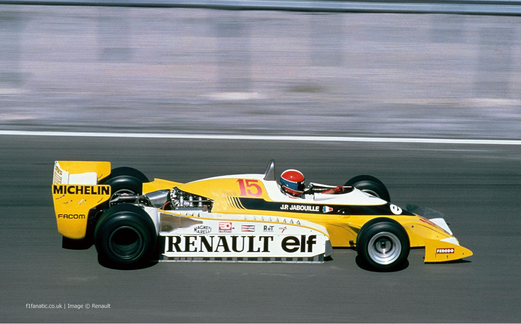 jean pierre jabouille renault dijon 1979 f1 fanatic. Black Bedroom Furniture Sets. Home Design Ideas