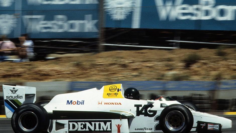 Jacques Laffite, Williams, Kyalami, 1983