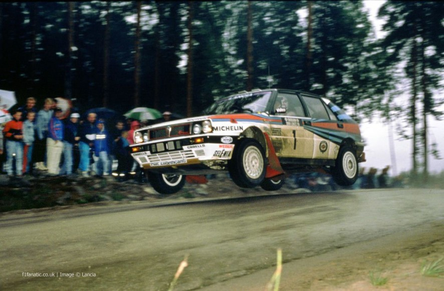 Lancia Delta, Finland, 1989