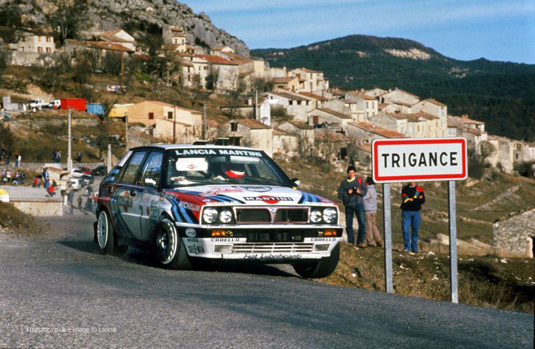 Lancia Delta, Monte-Carlo, 1990