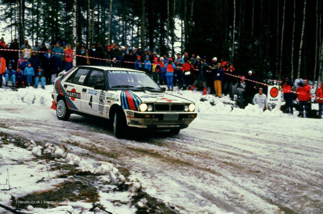 Lancia Delta, Sweden, 1988