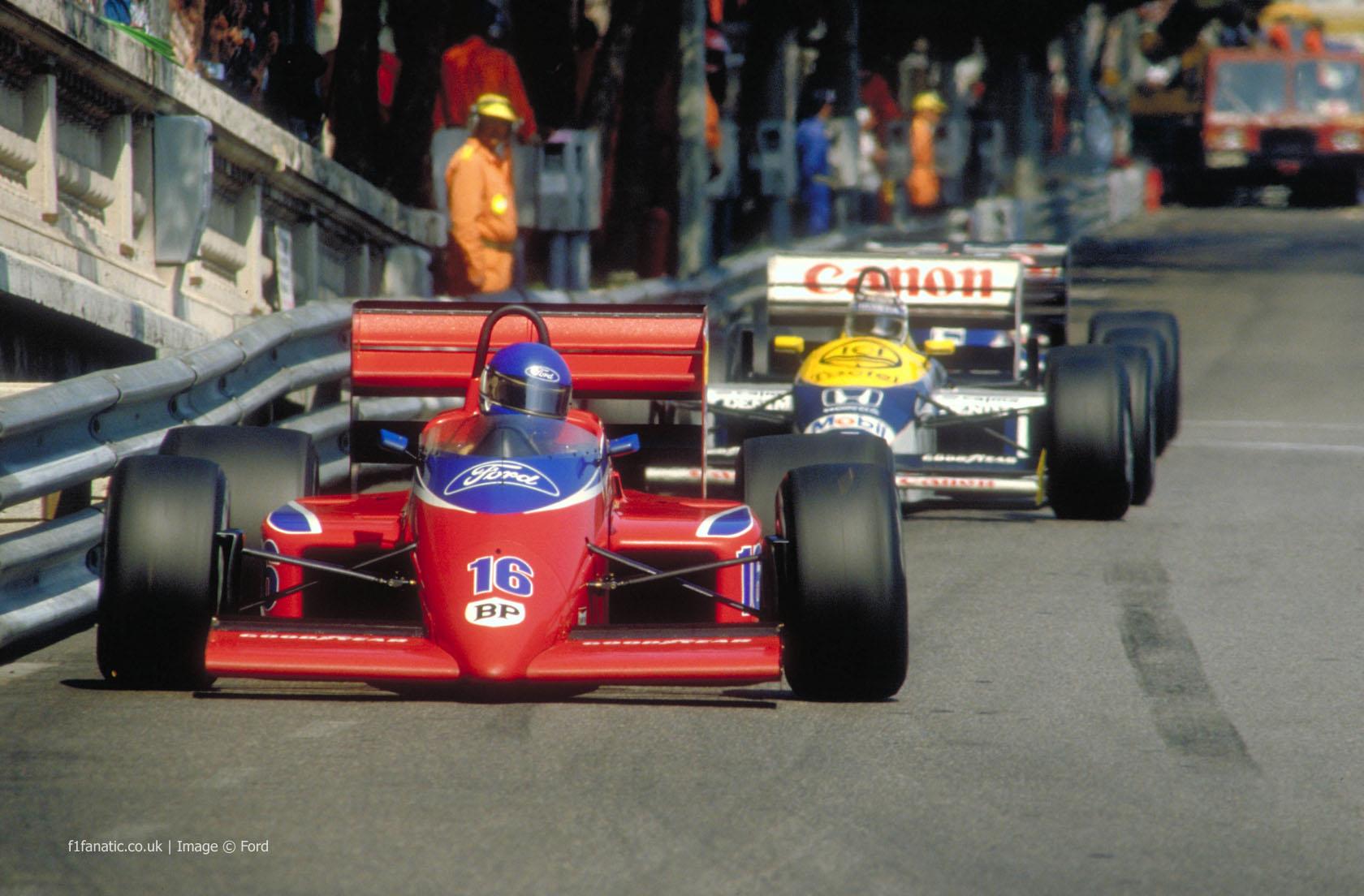 Patrick Tambay, Lola-Ford, Monaco, 1986