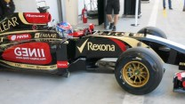 Romain Grosjean, Lotus E22, Bahrain, 2014