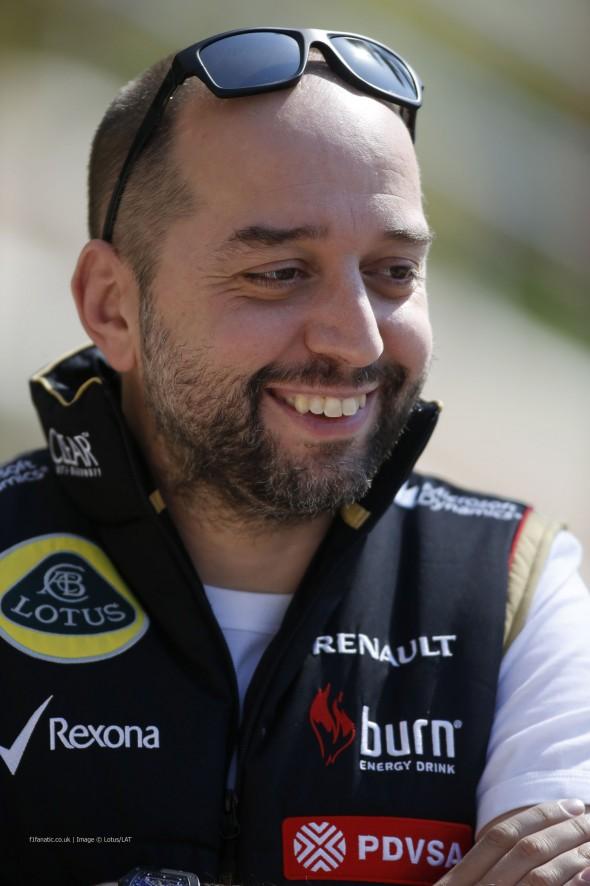 Gerard Lopez, Lotus, Bahrain, 2014
