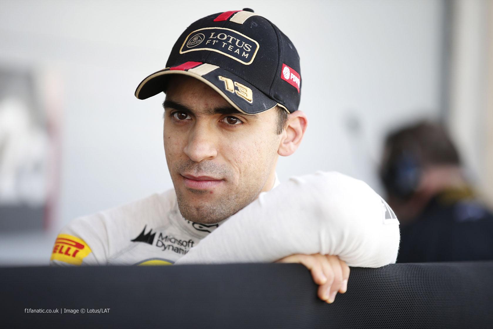 Pastor Maldonado, Lotus, Bahrain, 2014