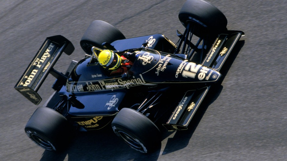 Ayrton Senna, Lotus, Monza, 1985