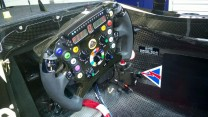 Lotus E22 steering wheel, 2014