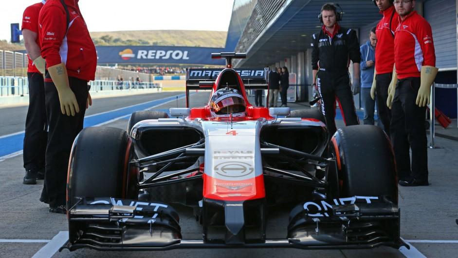 Max Chilton, Marussia, Jerez, 2014