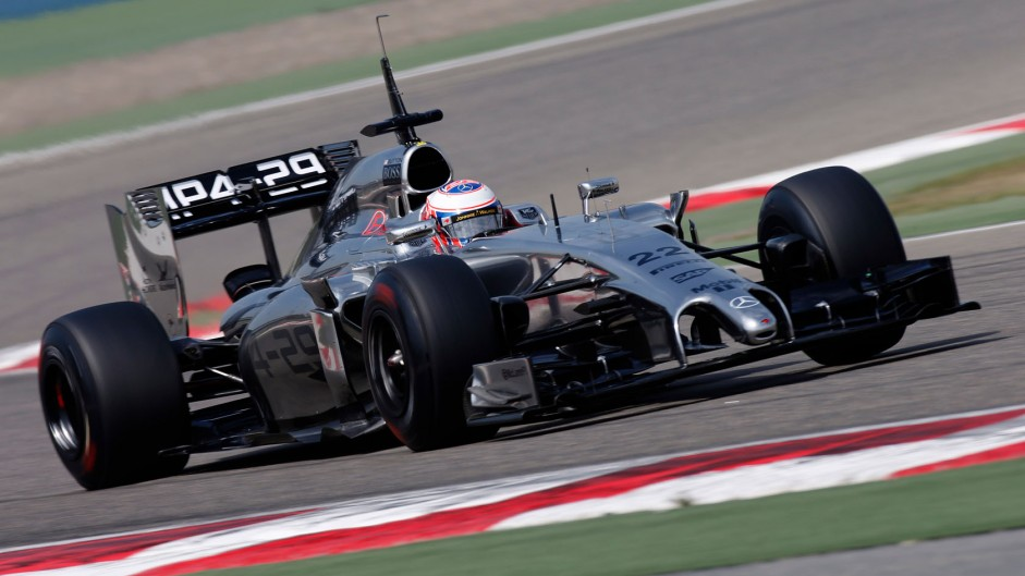 McLaren need more time with MP4-29 – Button