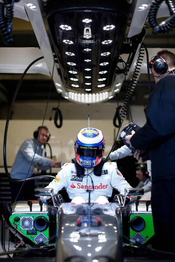 Jenson Button, McLaren, Jerez, 2014
