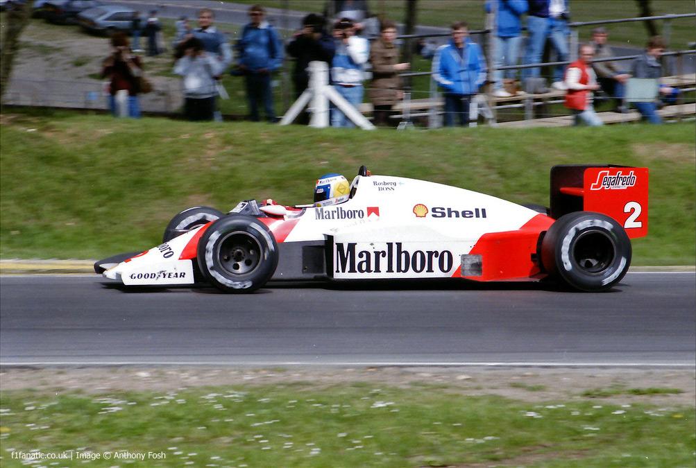 Top Ten Tyres >> Keke Rosberg, McLaren, Brands Hatch, 1986 · RaceFans