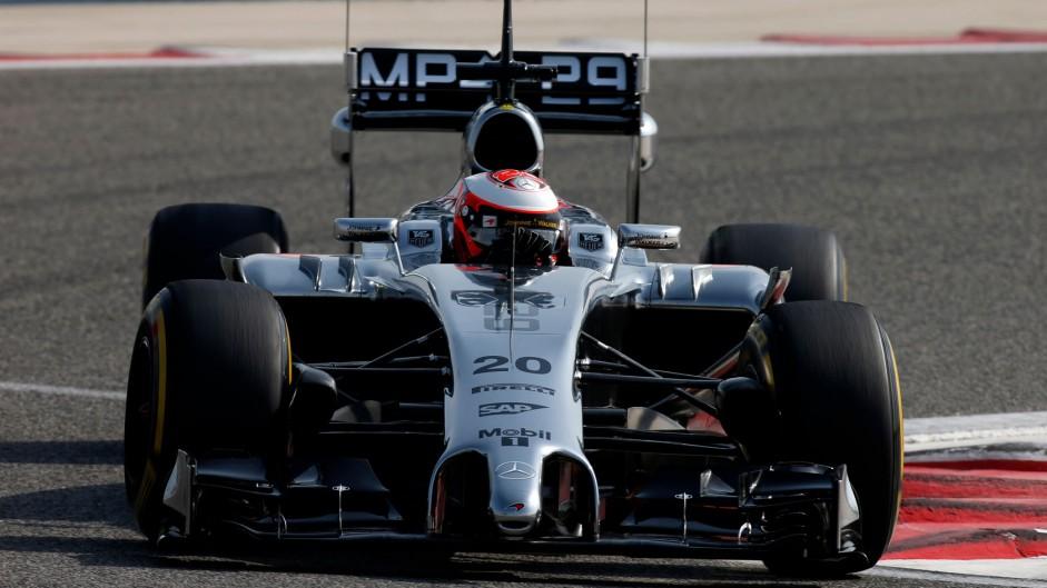 Kevin Magnussen, McLaren, Bahrain, 2014