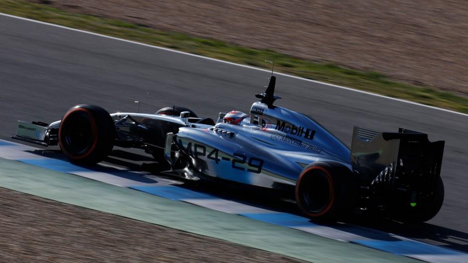 Kevin Magnussen, McLaren, Jerez, 2014