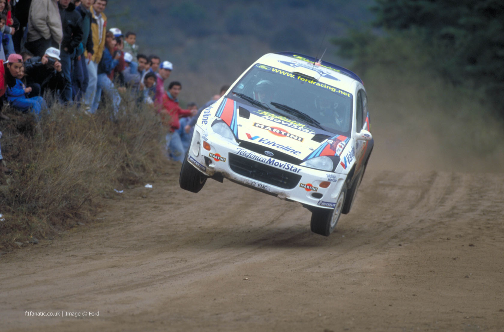 Ford Focus WRC, Argentina, 2000