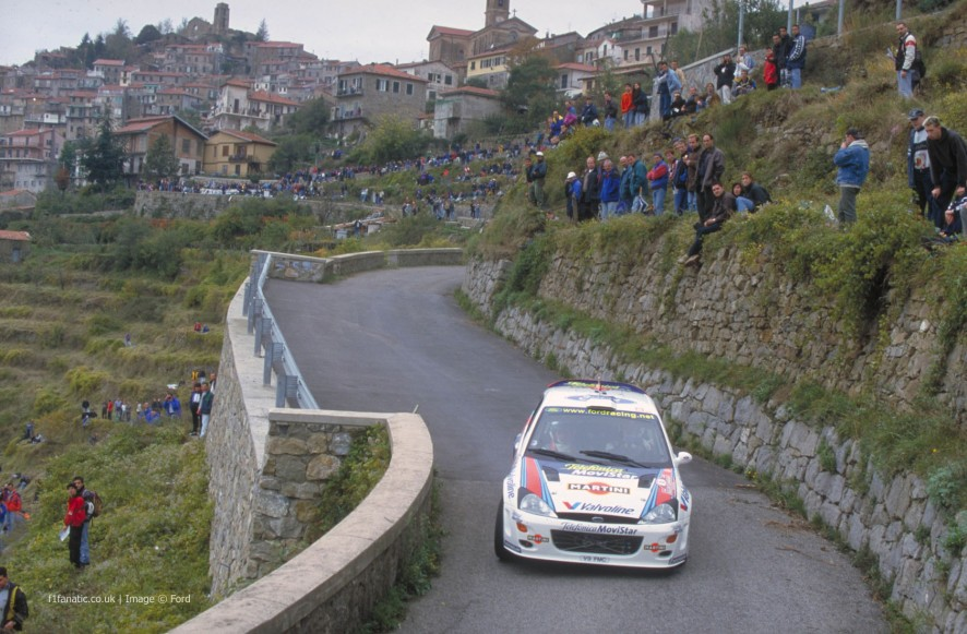Ford Focus WRC, Italy, 2000