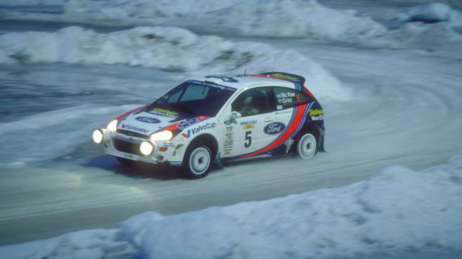 Ford Focus WRC, Sweden, 2000