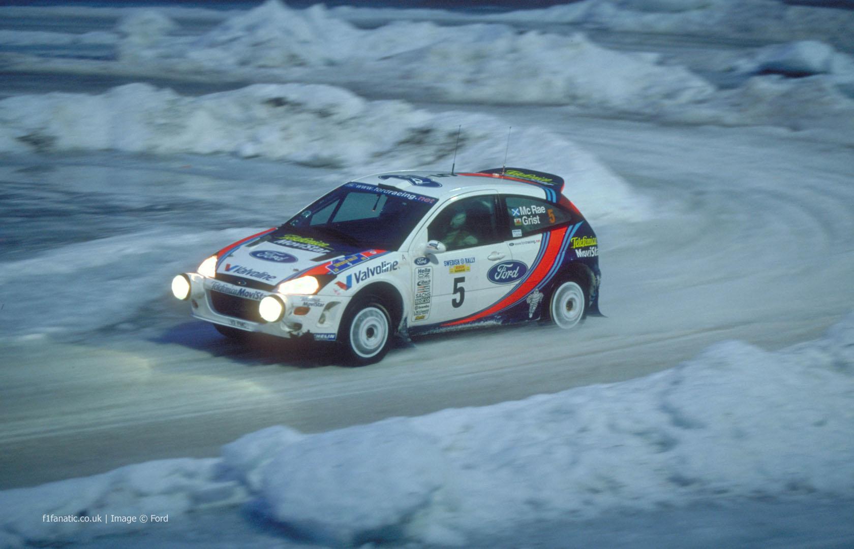 Ford Focus WRC, Sweden, 2000