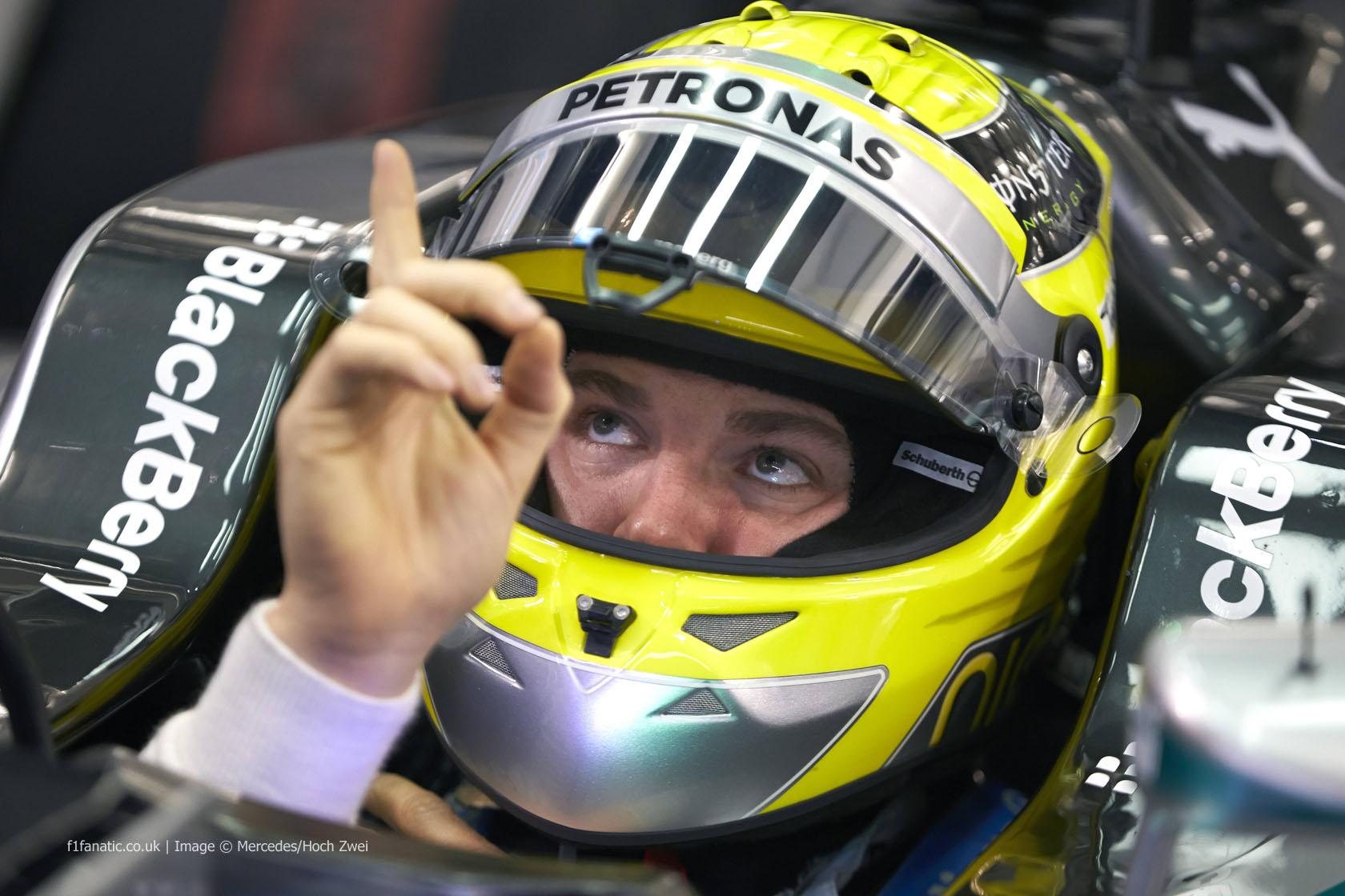 Nico Rosberg, Mercedes, Bahrain, 2014