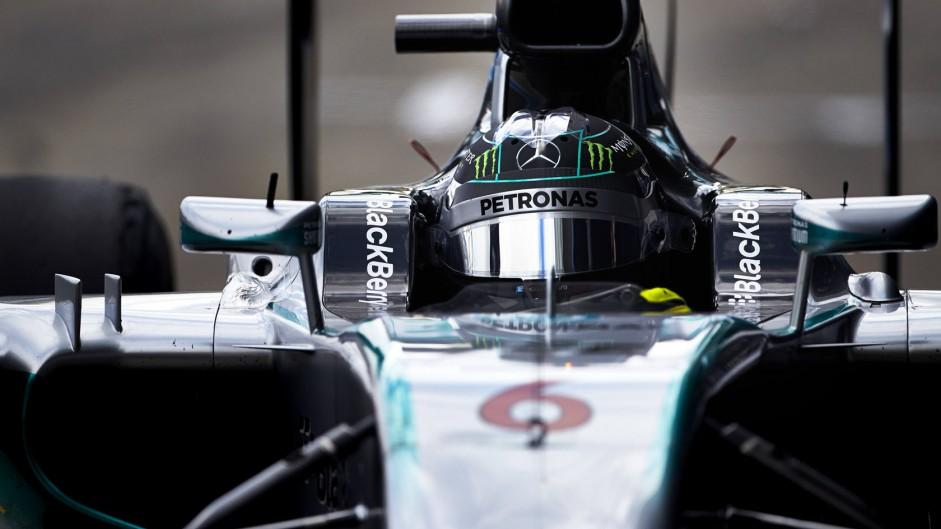 Nico Rosberg, Mercedes, Jerez, 2014
