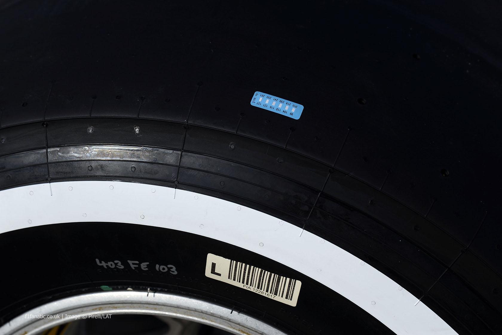 Pirelli tyre temperature sensor, 2014