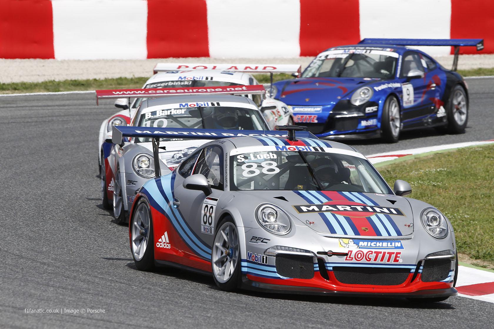 Porsche 911 Supercup, Circuit de Catalunya, 2013