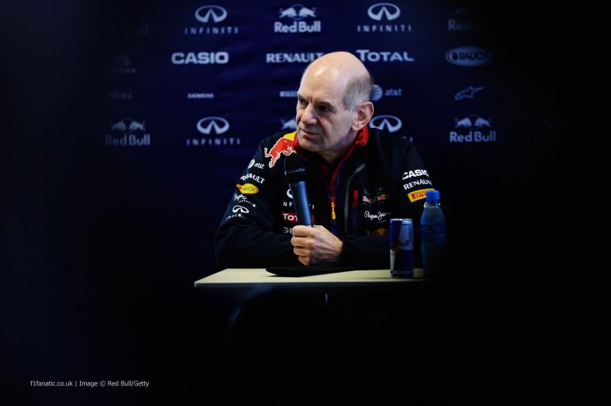 Adrian Newey, Red Bull, Jerez, 2014