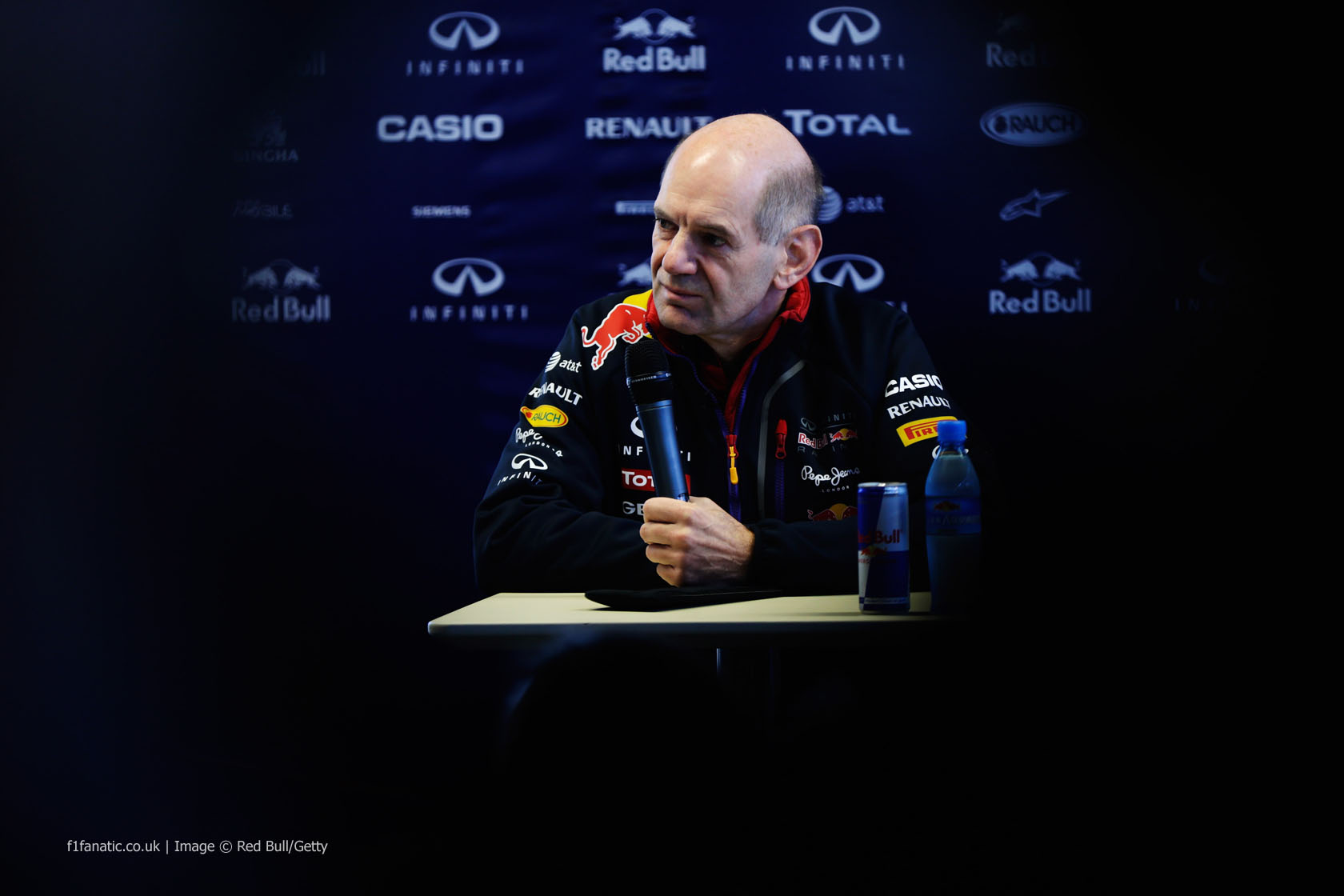 Adrian Newey, Red Bull, Jerez, 2014