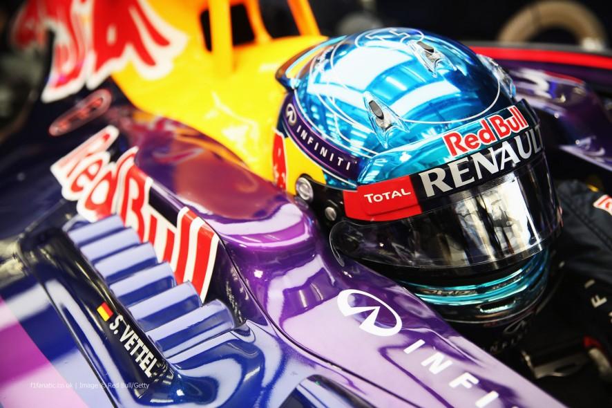 Sebastian Vettel, Red Bull, Bahrain, 2014