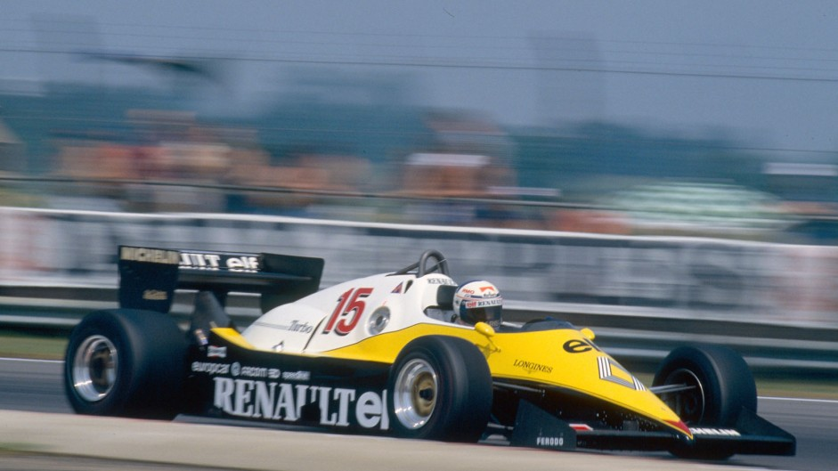 Alain Prost, Renault, 1983