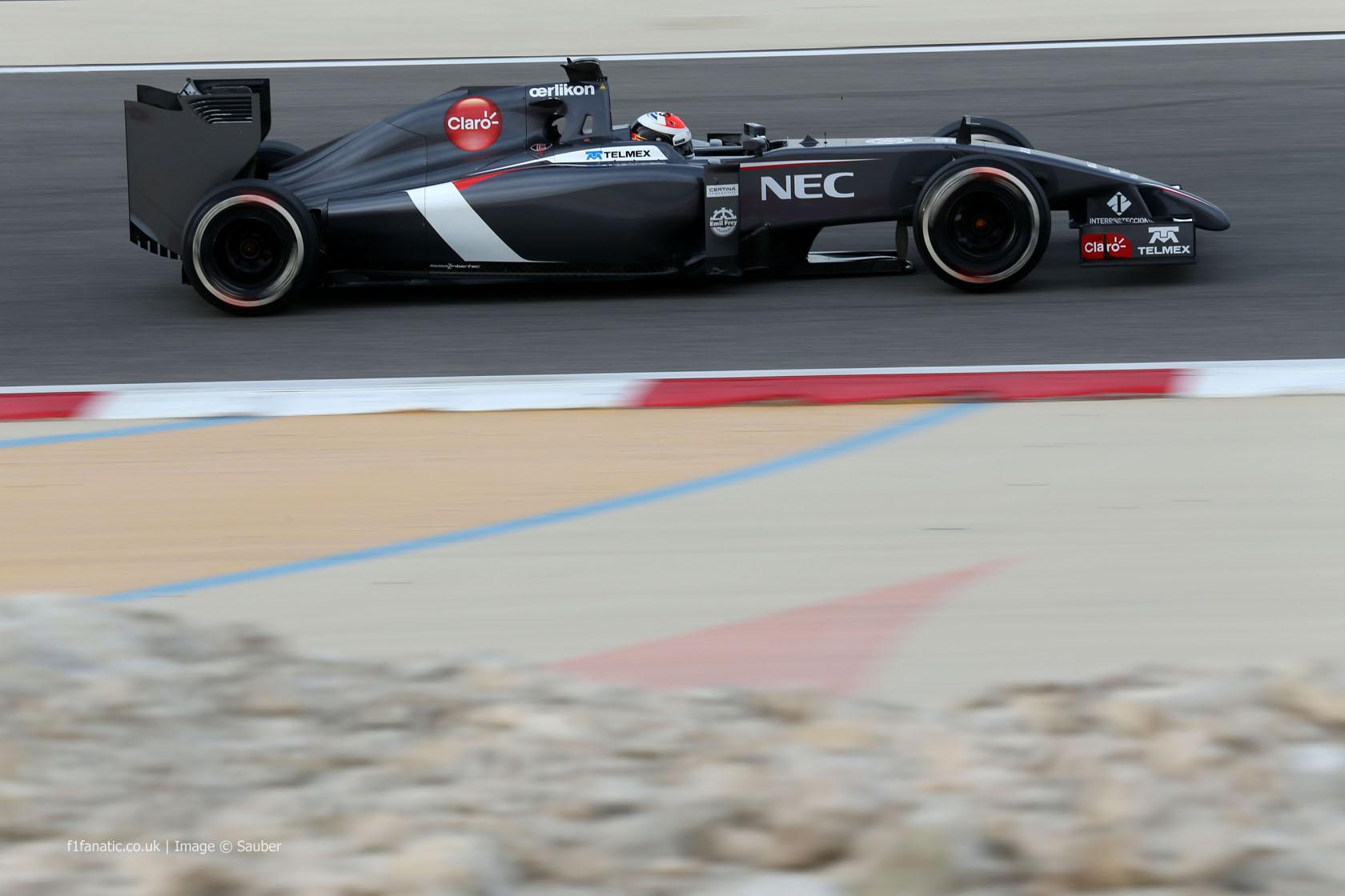 Adrian Sutil, Sauber, Bahrain, 2014