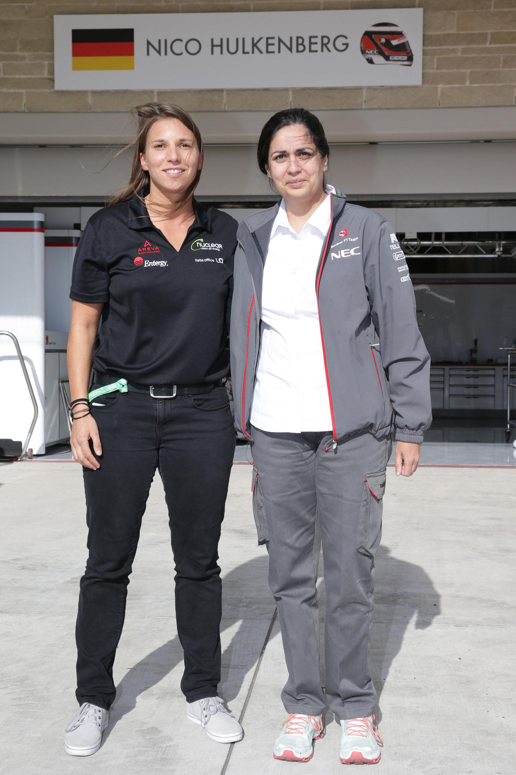 Monisha Kaltenborn, Simona de Silvestro, Circuit of the Americas, 2013