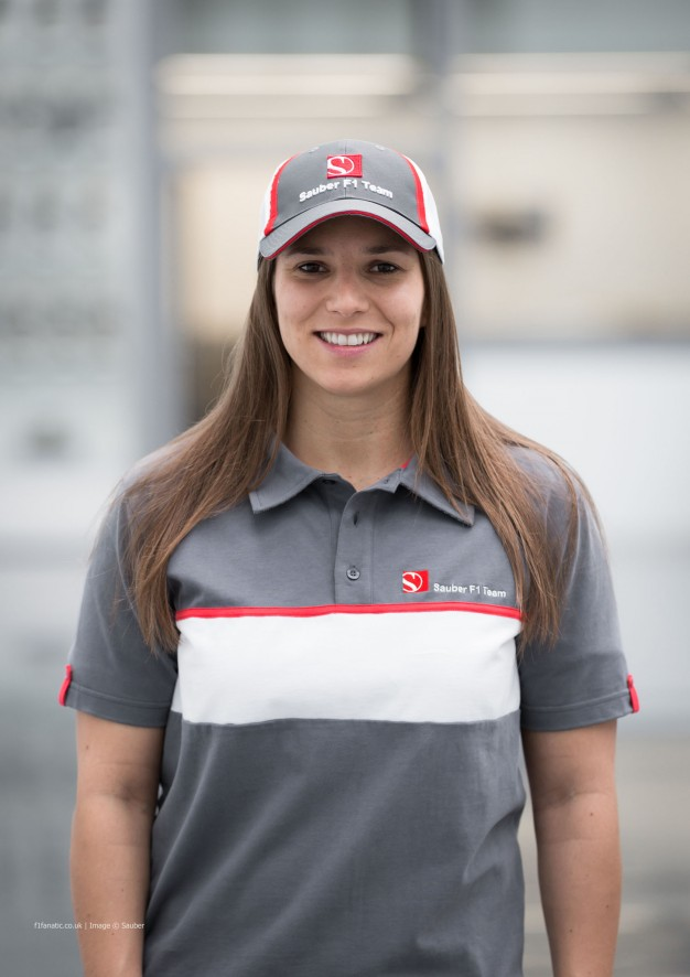 Simona De Silvestro, Sauber, 2014