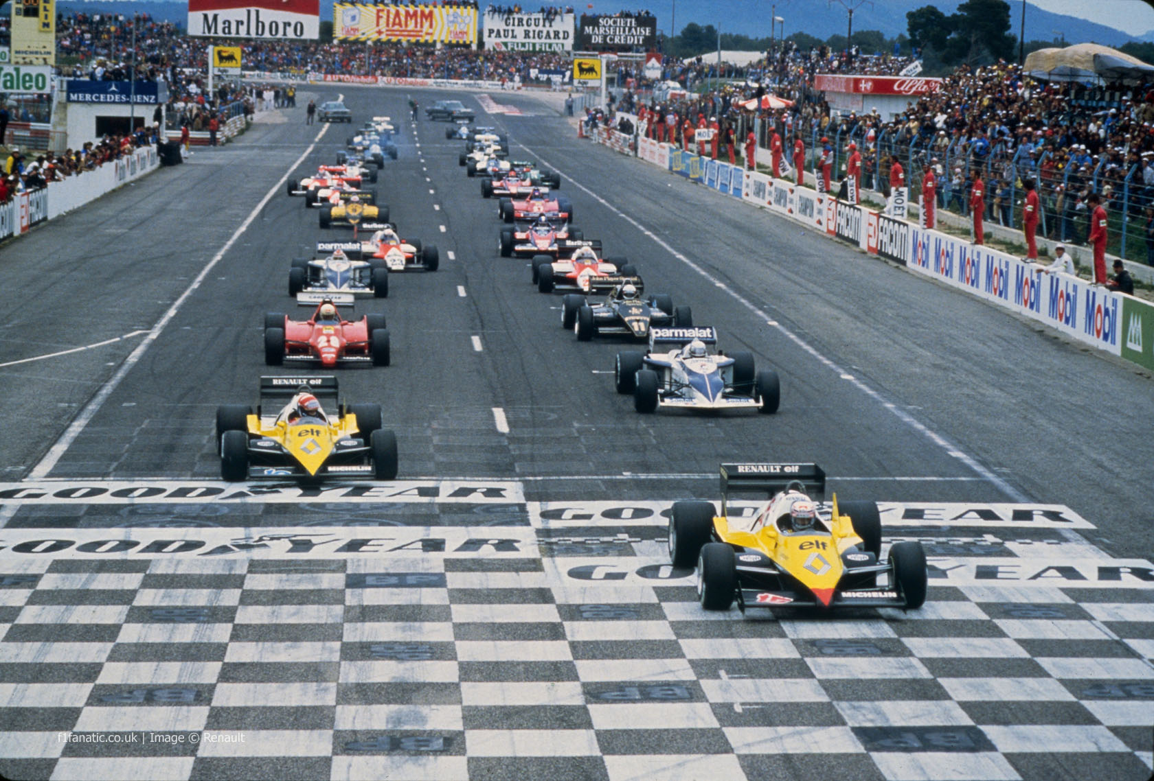 Start Paul Ricard 1983 183 F1 Fanatic