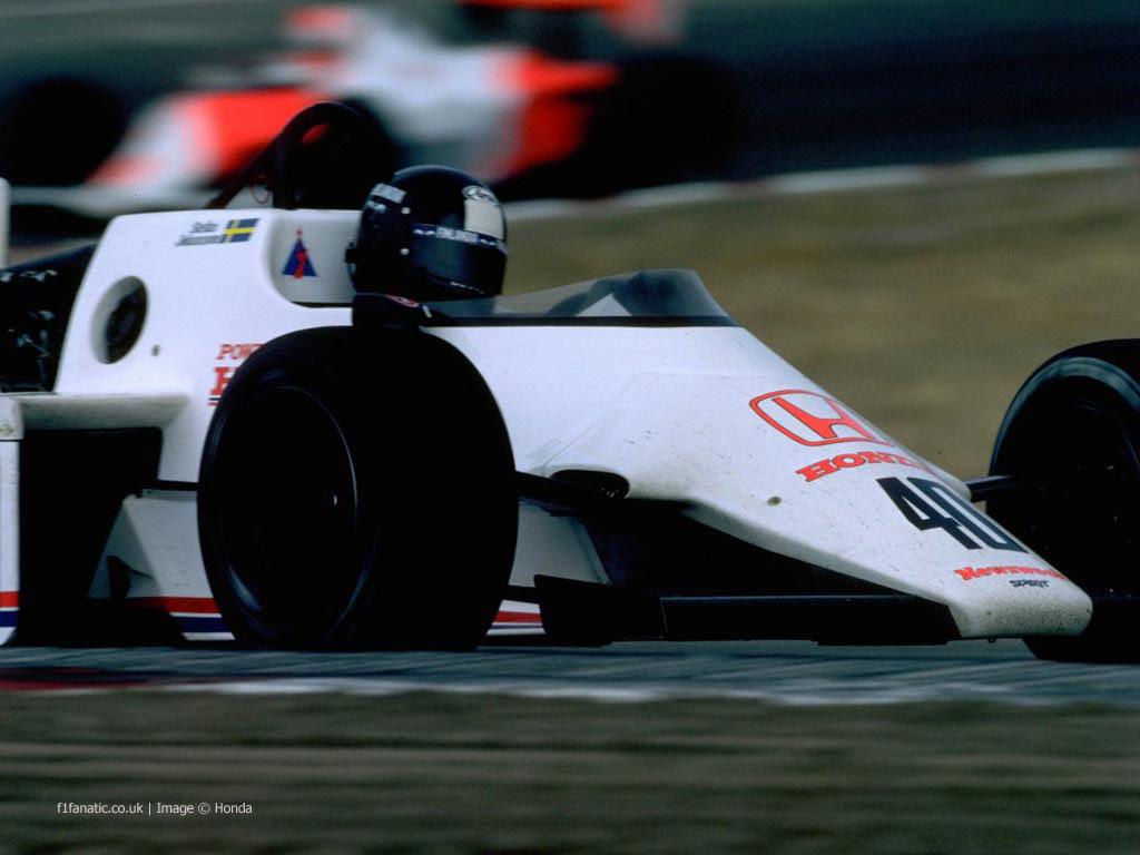 Stefan Johansson, Spirit, Osterreichring, 1983