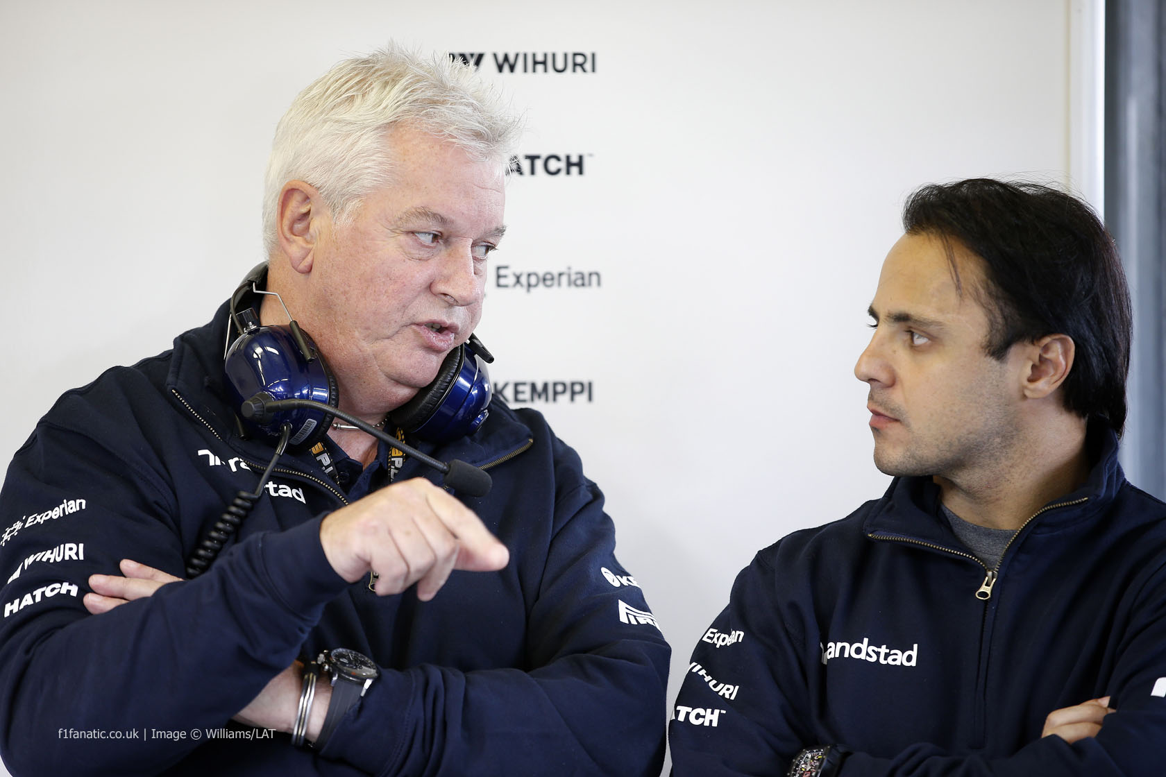 Pat Symons, Felipe Massa, Williams, Jerez, 2014
