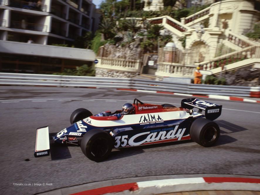 Bruno Giacomelli, Toleman, Monaco, 1981