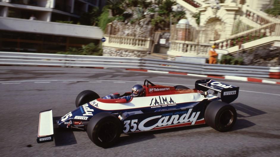 Brian Henton, Toleman, Monaco, 1981