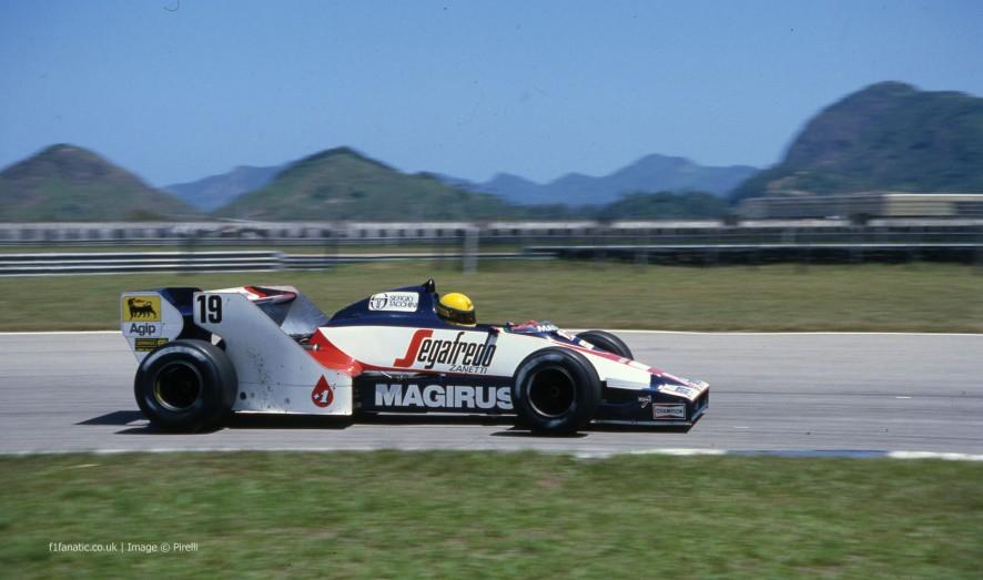Ayrton Senna, Toleman, Jacarepagua, 1984