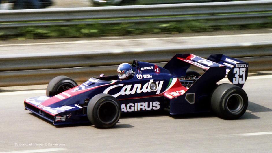 Derek Warwick, Toleman, Spa-Francorchamps, 1983
