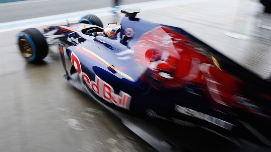 Daniil Kvyat, Toro Rosso, Jerez, 2014